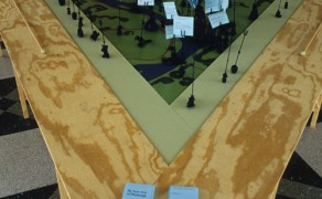 Pittsburgh Map Table